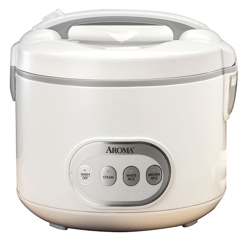 Aroma 16-Cup Digital Rice Cooker and Food Steamer