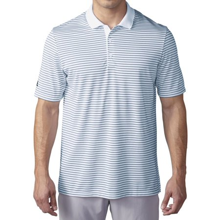 separation shoes c1faa af7a6 adidas Men's Climacool Pencil Stripe Polo Shirt