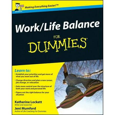 Work-Life Balance for Dummies - Life Size Dummy