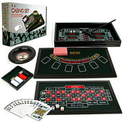 Trademark Poker 4-in-1 Casino Game Table by TRADEMARK GAMES INC