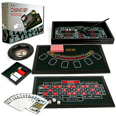 Trademark Poker 4-in-1 Casino Game Table