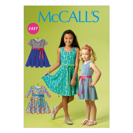 McCall PatternChidren's/Girls' Dresses-7-8-10-12-14