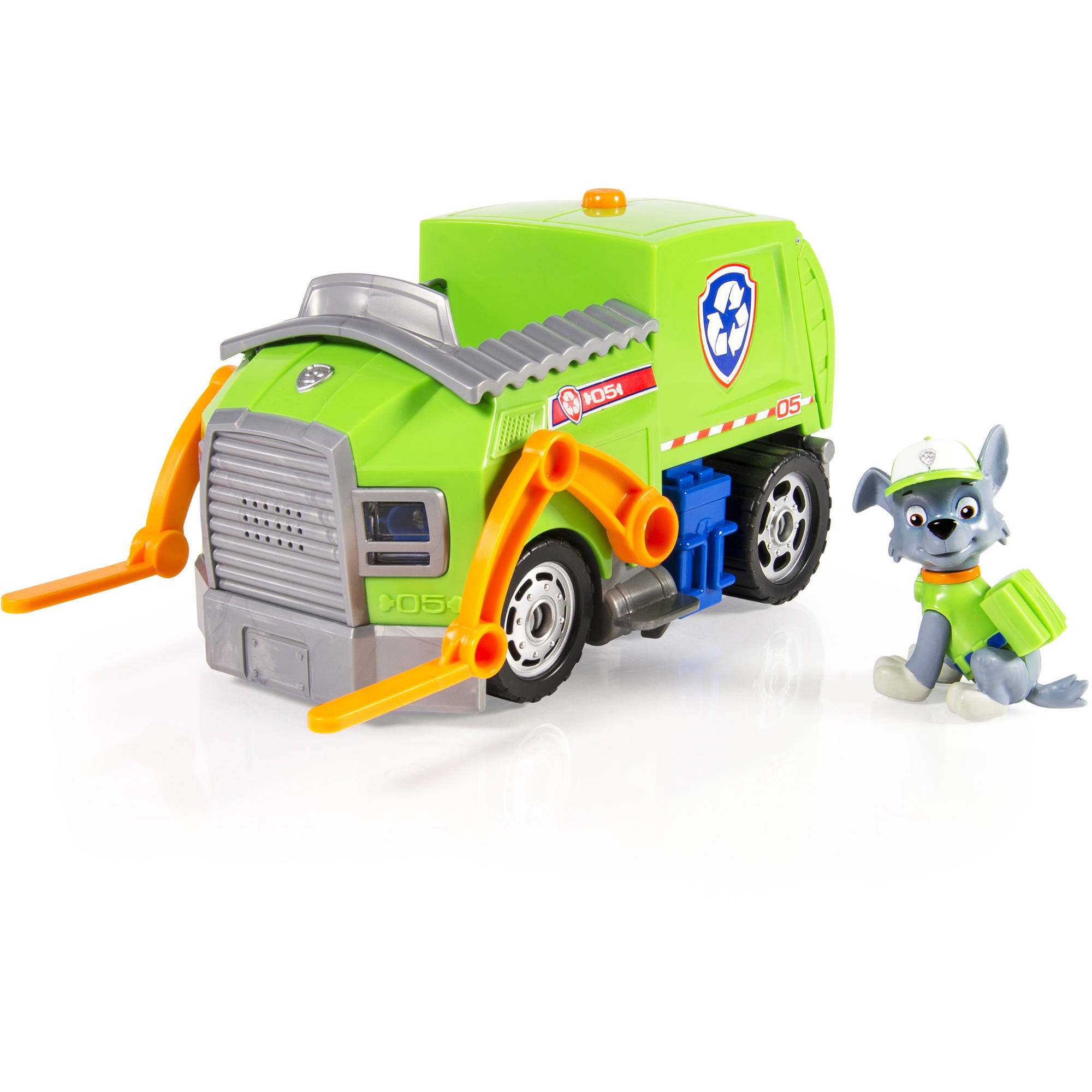 Fisher Price Paw Patrol Rocky's Lights and Sounds Recycling Truck by Paw Patrol
