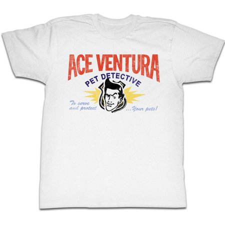 Ace Ventura: Pet Detective Comedy Movie Business Card Adult T-Shirt Tee](Ace Ventura Outfit)