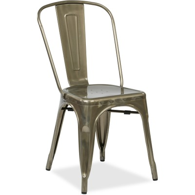 OSP Designs Bristow Metal Seat and Back Chair OSPBRW29A4GM
