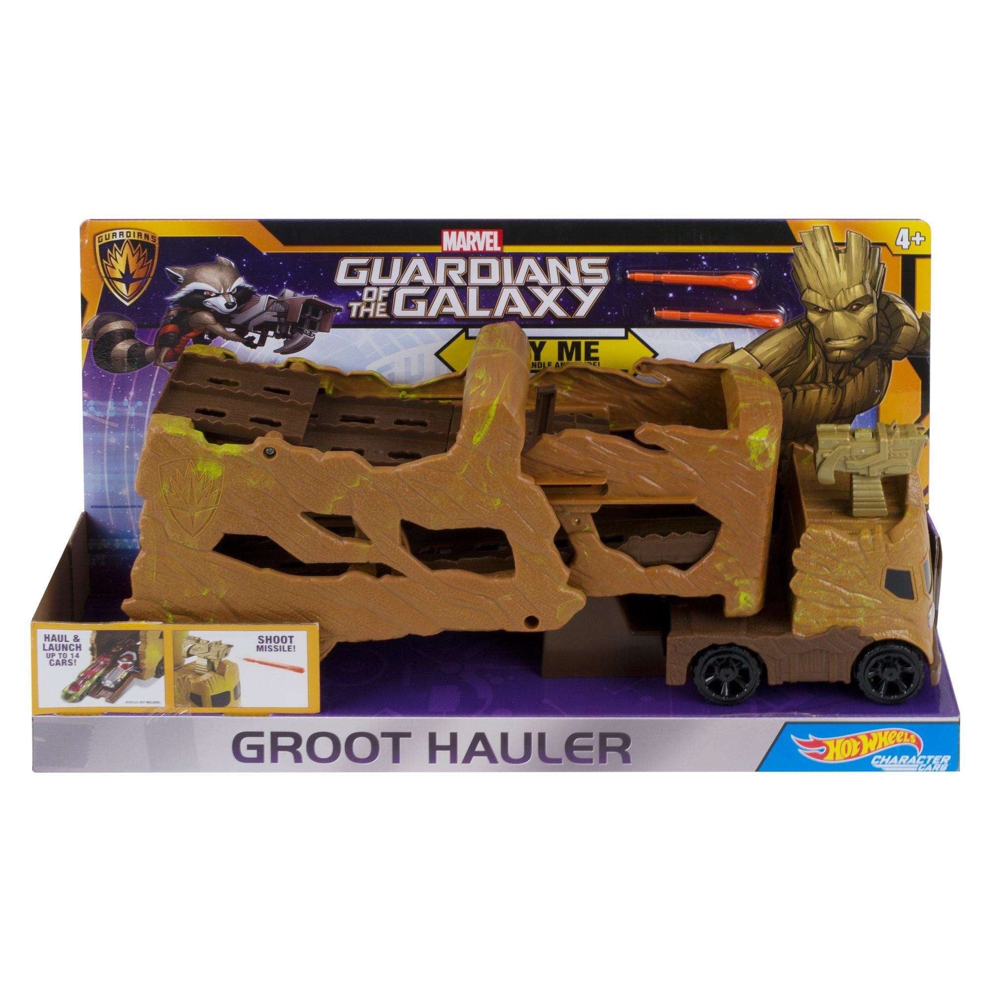 Hot Wheels Marvel Groot Hauler Vehicle - Walmart.com