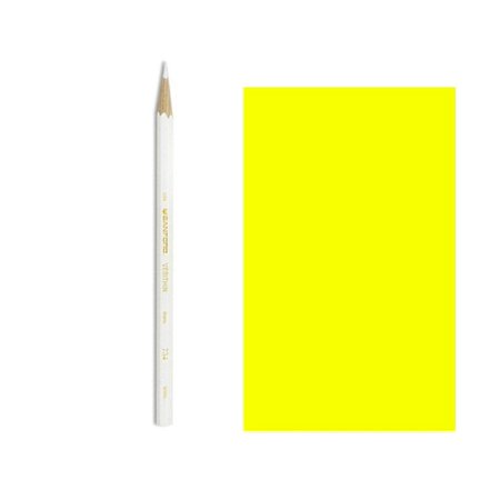 Verithin Colored Pencil, Canary Yellow, High quality pencils with hard, thin leads make edges cleaner, outlines bolder, and lettering pristine. By (Pencil Edge)