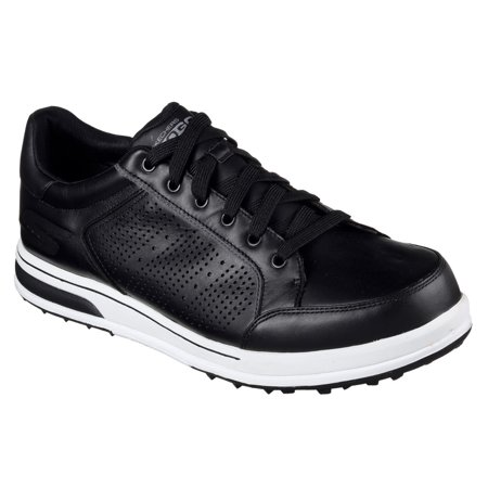 1fde8f0daac4 New Mens Skechers Go Golf Drive 2-LX Golf Shoes Black   White Size 11 M -  Walmart.com