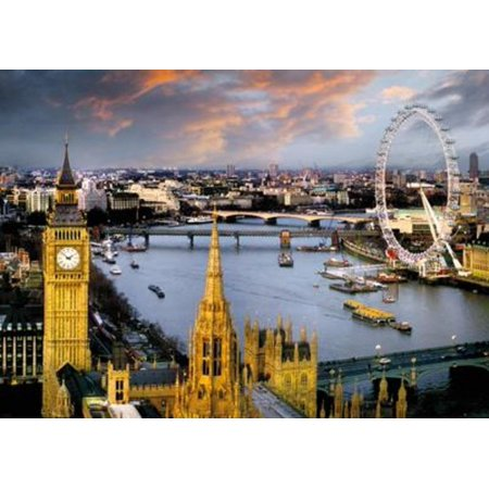 Party City On Line (Reichold London Thames Photo Art Print Giant Poster 55x39..., By Gotham City Online Ship from)