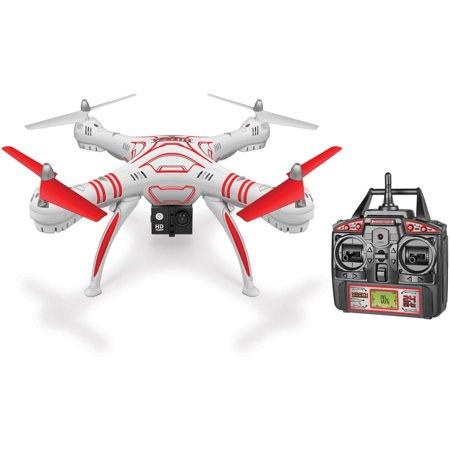 Wraith Spy Drone 4 5 Channel 1080P Hd Video Camera 2 4Ghz R C Quadcopter