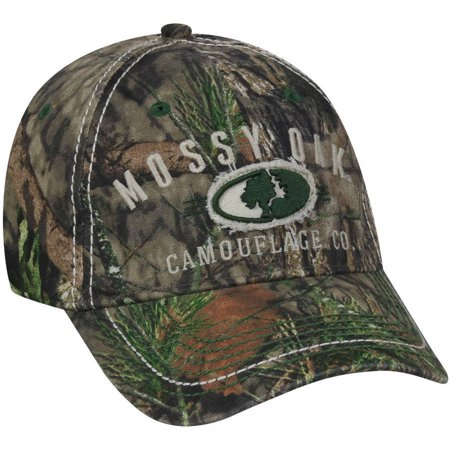 Mossy Oak Country Logo Stretch Fit Cap ()