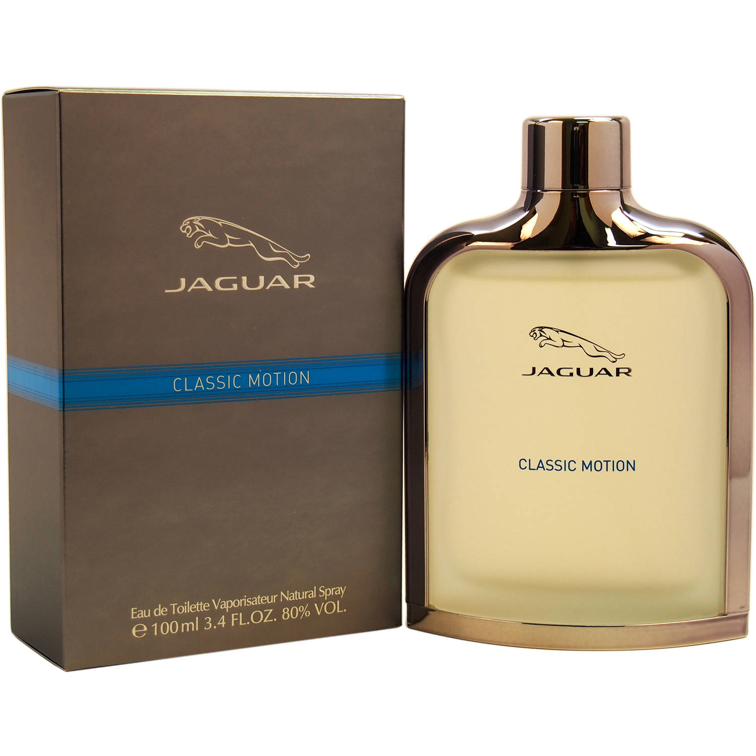 Jaguar Classic Motion Men's EDT Spray, 3.4 fl oz