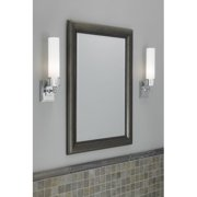 """Norwell Lighting 9651 Astro 15"""" Tall Single Light Bathroom Sconce with White Gla"""