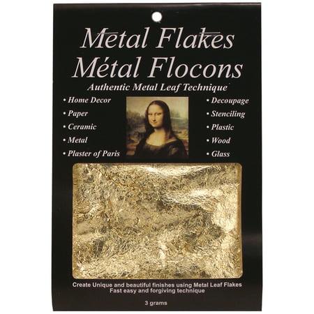 Mona Lisa Metal Leaf Flakes Gold (Germany Gold Leaf)