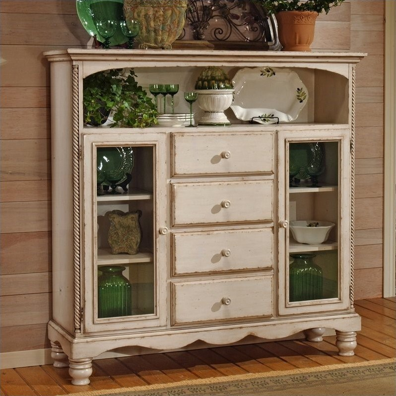Hillsdale Furniture Wilshire Four-Drawer Baker's Cabinet, Multiple Colors