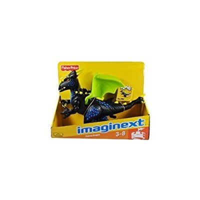 imaginext black deluxe dragon