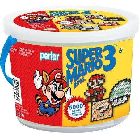 Perler Fused Bead Bucket Kit-Super Mario Bros. 3](Perler Bead Halloween Designs)