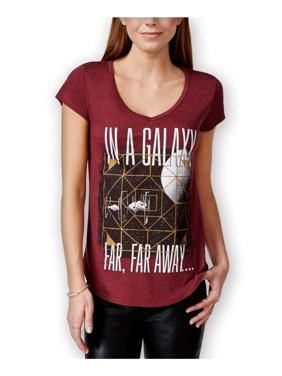 401d440ccdb82b Product Image Hybrid Womens Star Wars Galaxy Graphic T-Shirt