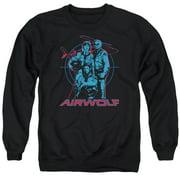 Airwolf Graphic Mens Crewneck Sweatshirt