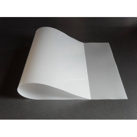 1 flexible translucent pe plastic sheet 48x24x1 30 for Craft plastic sheets walmart