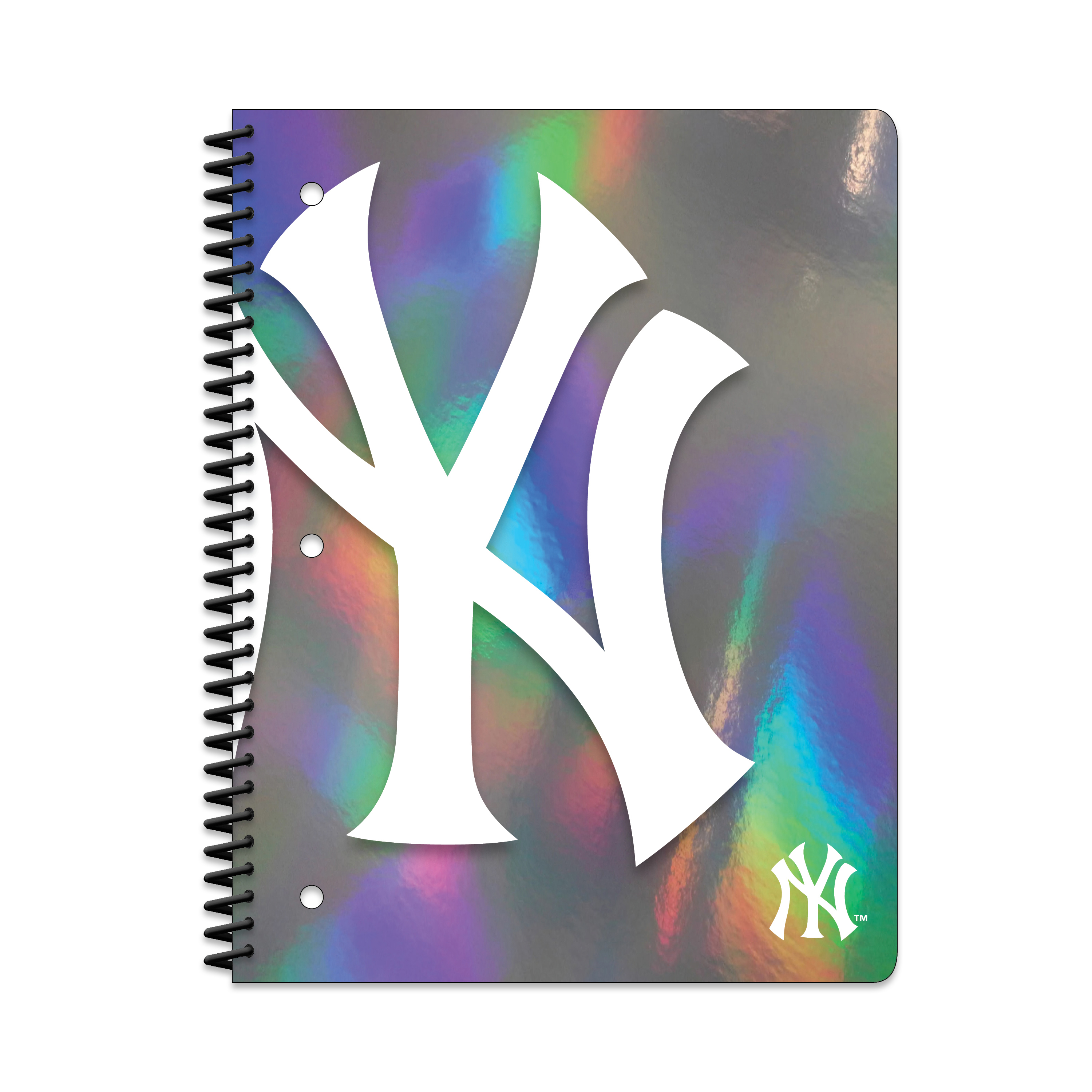 NEW YORK YANKEES HOLOGRAPHIC 1-SUBJECT NOTEBOOK