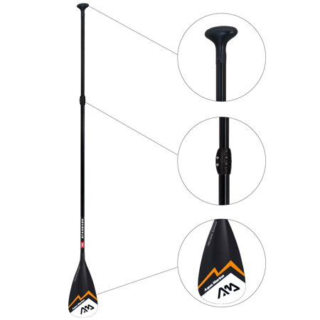 Aqua Marina Adjustable iSUP Paddle | Paddle Board Accessories for Surfing | 3-section Shaft Aluminum