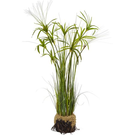 Papyrus Plants - Nearly Natural Papyrus Plant with Faux Soil