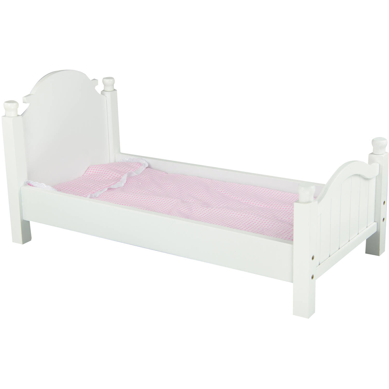 Olivias Little World - My Sweet Girl 18u0022 Doll Single Bed