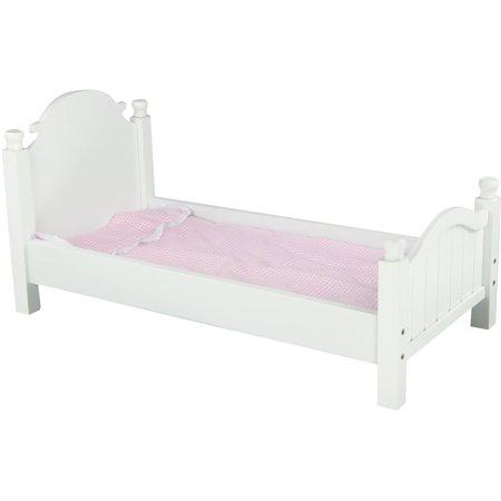 "Olivias Little World - My Sweet Girl 18"" Doll Single Bed"