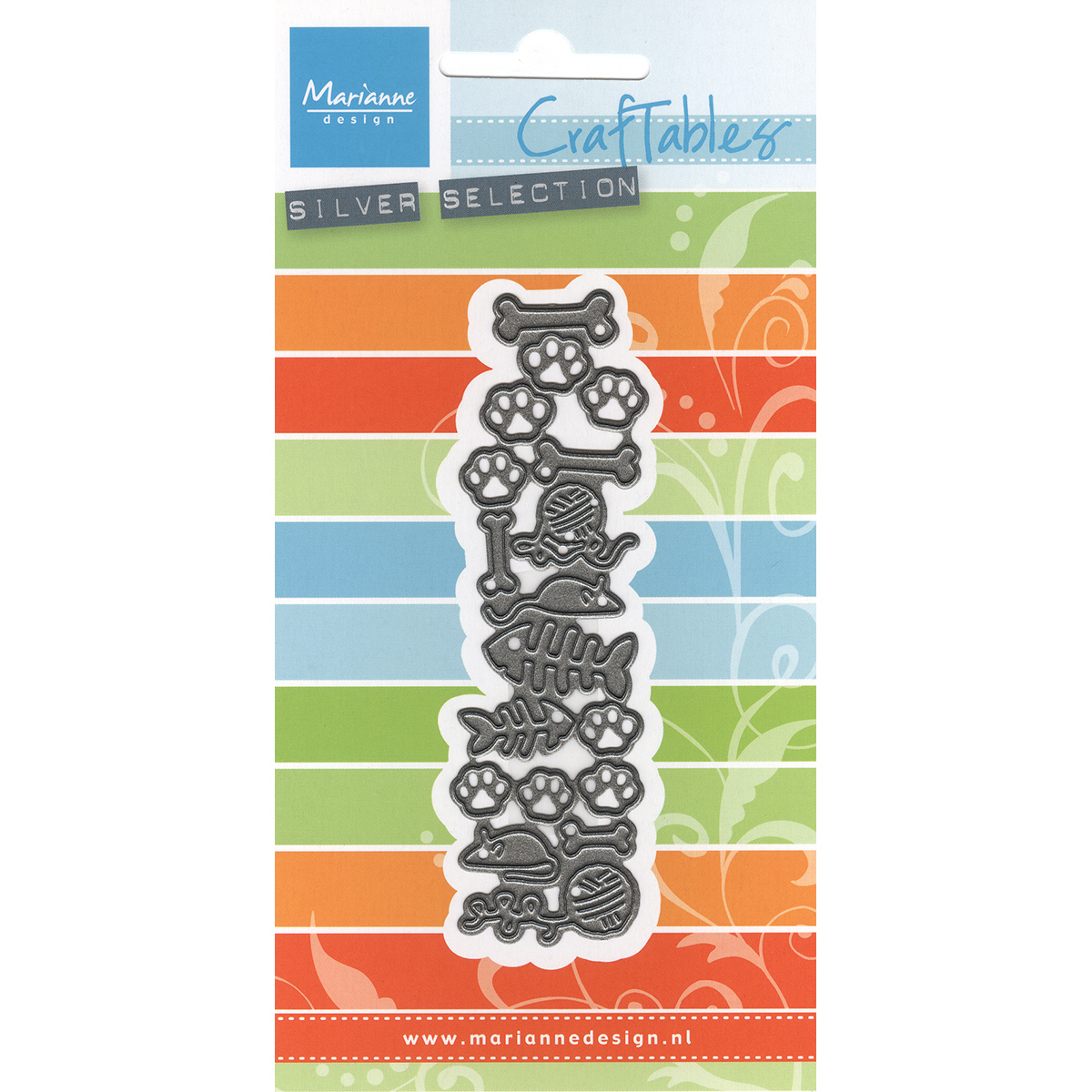 Marianne Design Craftables Punch Dies-Cats & Dogs