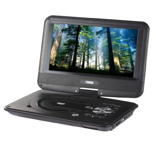 "Naxa Npd952 9"" Tft Lcd Swivel Screen Portable Dvd Player"