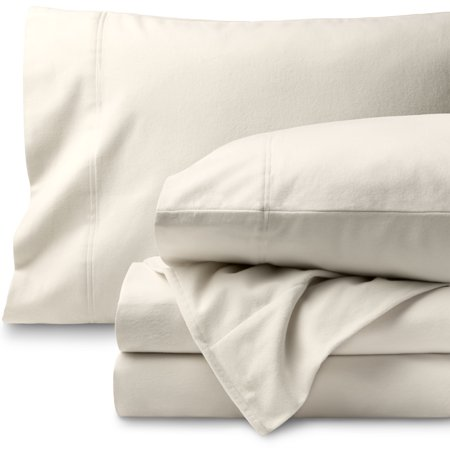 Bare Home 100 Cotton Velvet Flannel Sheet Set Extra Soft
