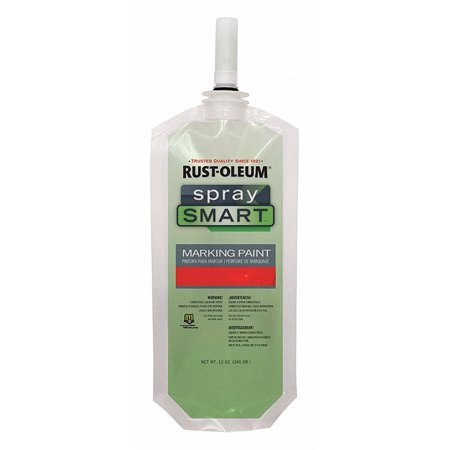 Rust-oleum Solvent-Base Propellant-Free Marking Paint, Fluorescent Red, 10.5 oz. ()