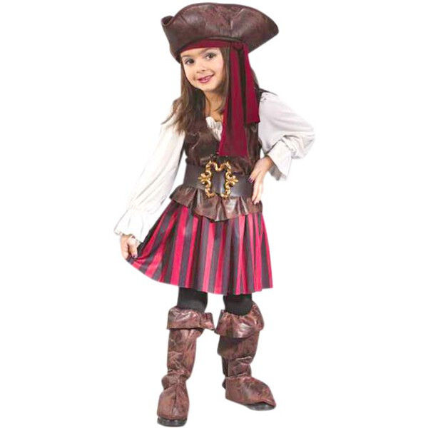 Toddler High Seas Girls Pirate Costume by