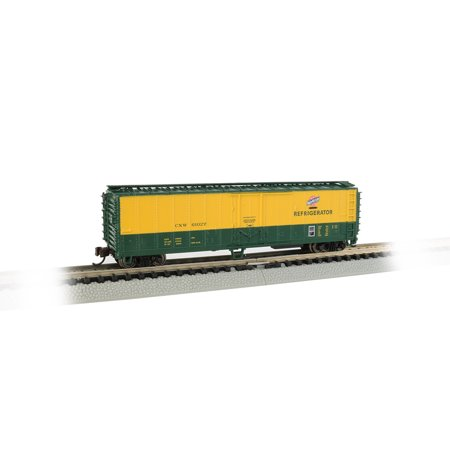 Bachmann 17958 N Scale Chicago & Northwestern ACF 50' Steel Reefer