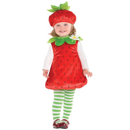 Strawberry Baby Infant Costume (6-12)