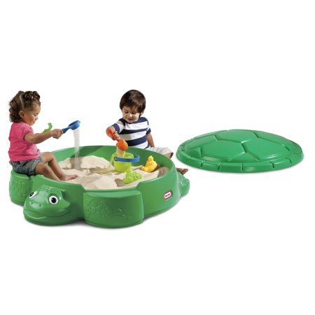 Little Tikes Turtle Sandbox with Removable Lid