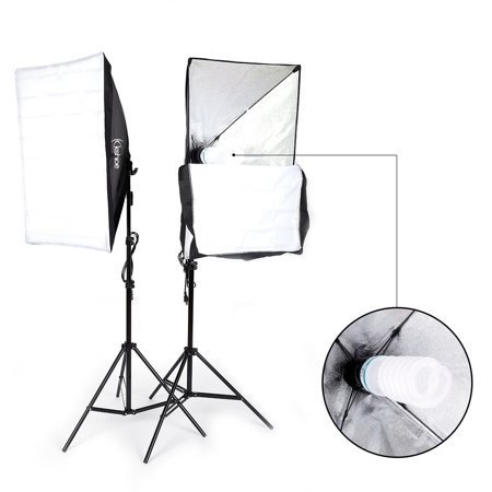 UBesGoo 135W Photography Studio Softbox Continuous Lighting Soft Box Light Stand (Photography Continuous Light Kit)