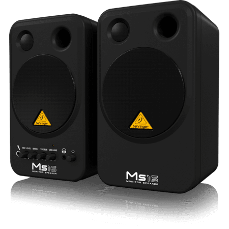 Behringer MS16 High-Performance, Active 16-Watt Personal Monitor System