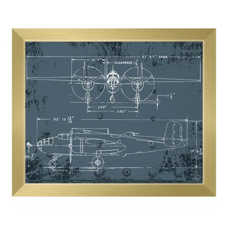 Click wall art airplane blueprint framed graphic art walmart click wall art airplane blueprint framed graphic art malvernweather Gallery