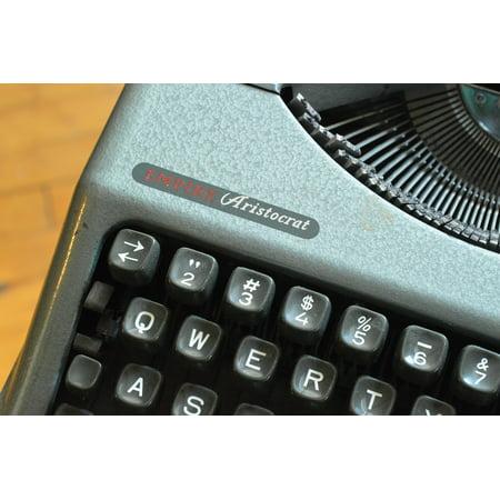 - LAMINATED POSTER Typewriter Retro Keys Old Machine Poster Print 24 x 36