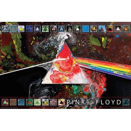 Pink Floyd - Dark Side of the Moon 40th Anniversary Poster - 36x24