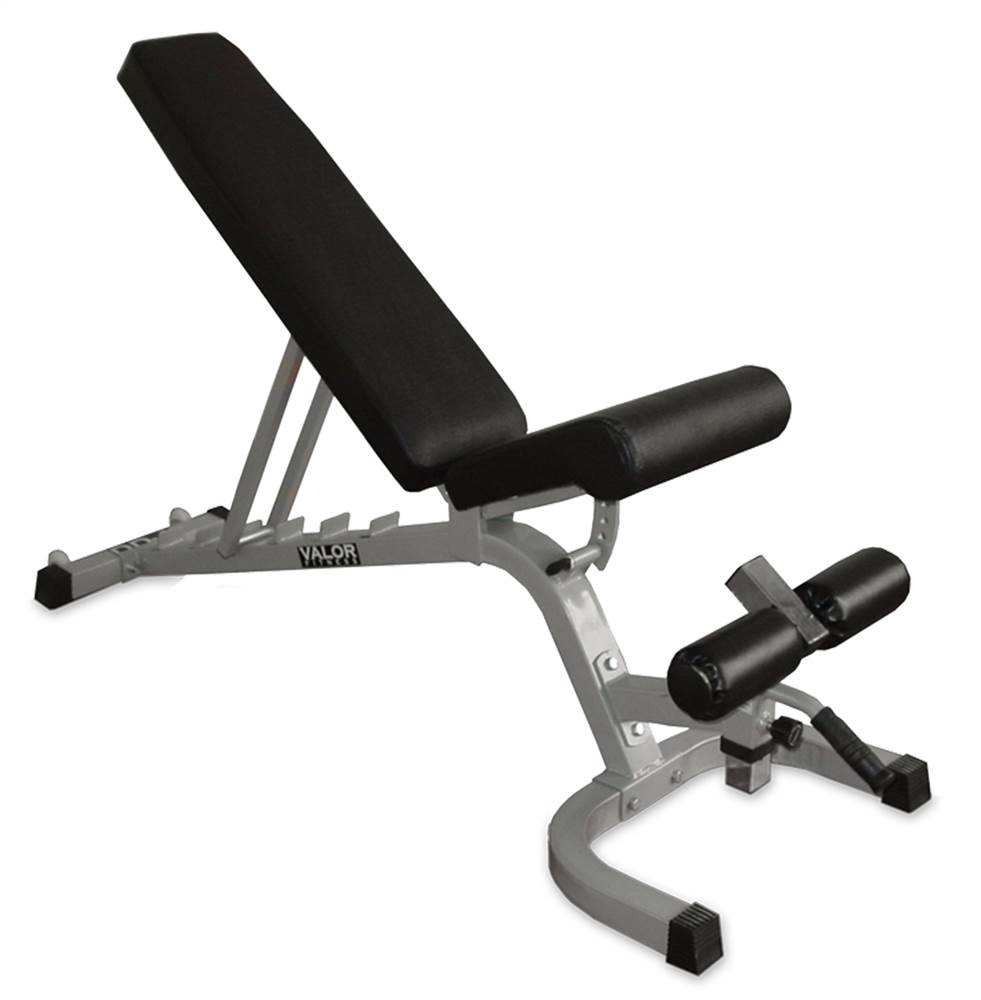 Valor Athletics FID Adjustable Utility Bench with Wheels