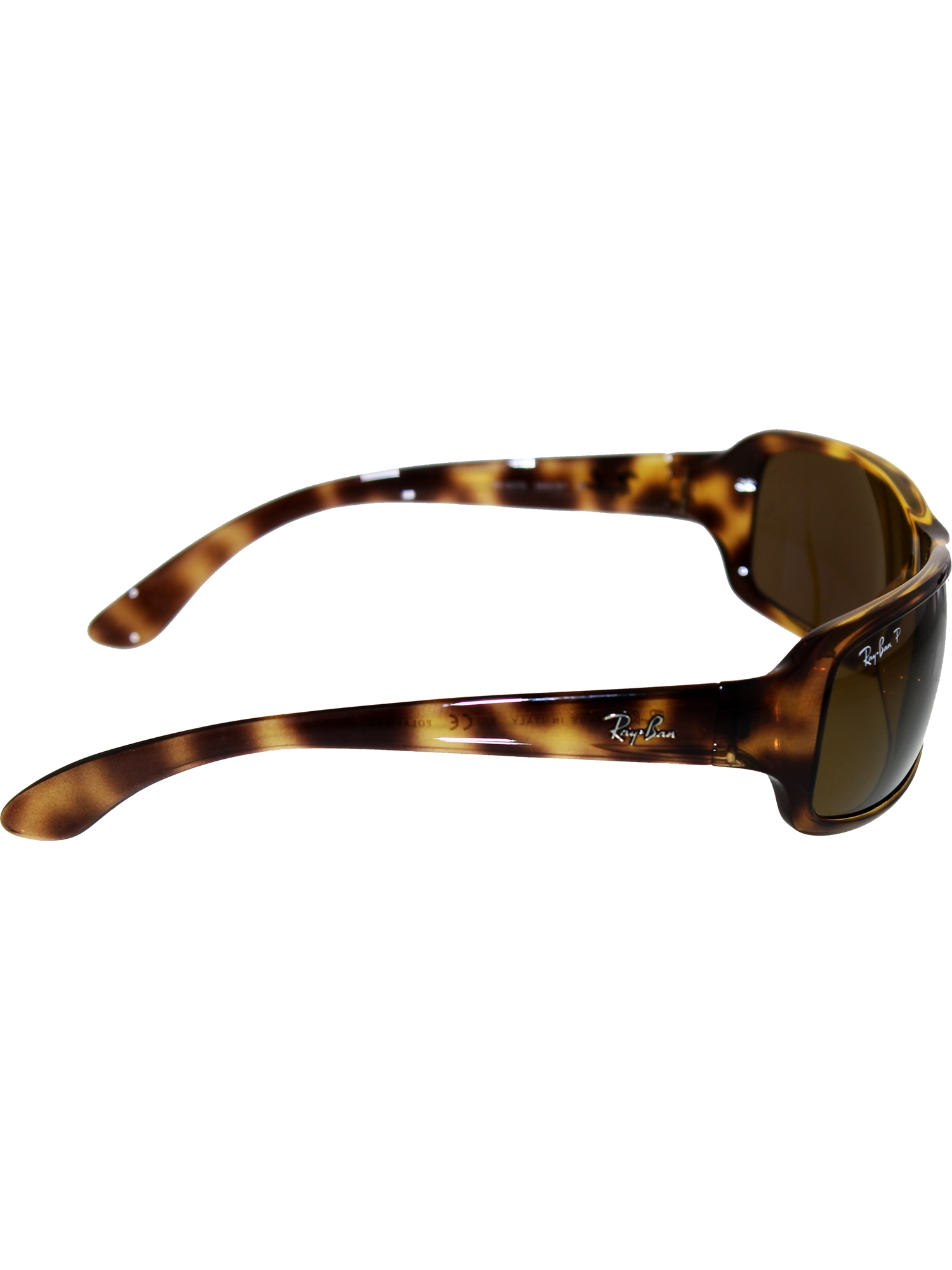 0bc235792ea ... real ray ban womens polarized highstreet rb4075 642 57 61 brown  rectangle sunglasses 00168 04072