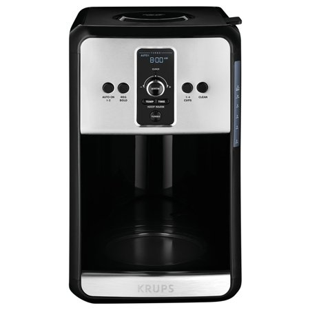 Krups Turbo Savoy Black 12 Cup Programmable Coffee