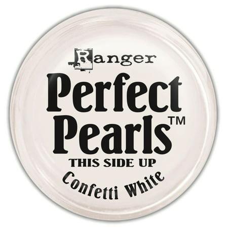 - Ranger Perfect Pearls Pigment Powder, 1-Ounce, Confetti White Multi-Colored