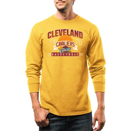 Nba Cleveland Cavaliers Big Mens Out Of The Gate Long Sleeve Basic Tee