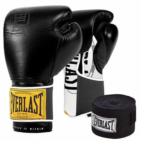 Everlast Boxhandschuhe Boxing Glove PU EVH1803 Black//Red