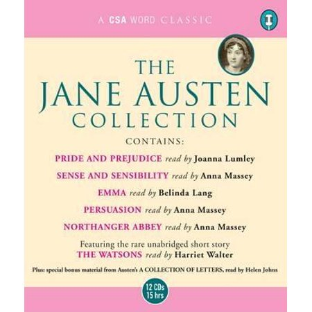 The Jane Austen Collection  Pride And Prejudice  Sense And Sensibility  Emma  Persuasion  Northanger Abbey  And The Watsons
