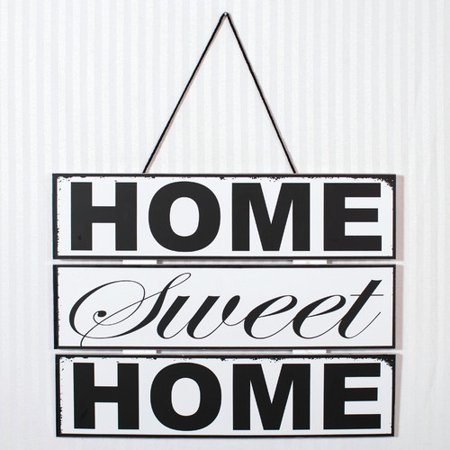 Adams co 39 home sweet home 39 wall decor - Home sweet home decorative accessories ...